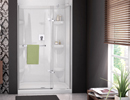 Alcove Shower 1 Door Panel