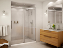 Alcove Shower with HALO Door System
