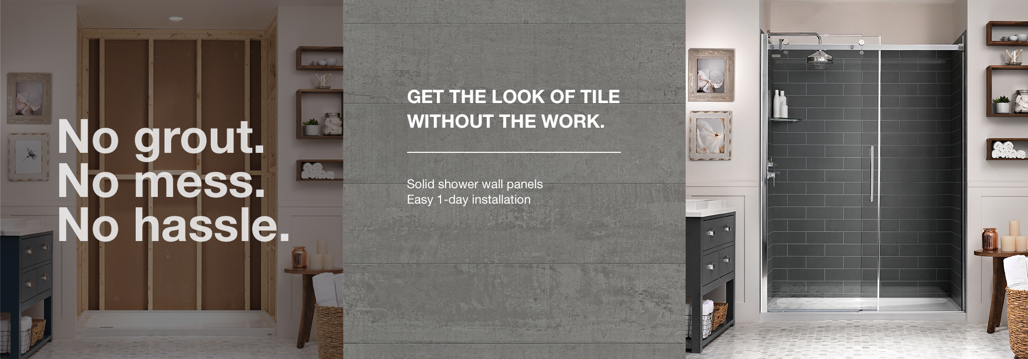 Wonderful No Grout Shower Walls Gallery - The Best Bathroom Ideas ...